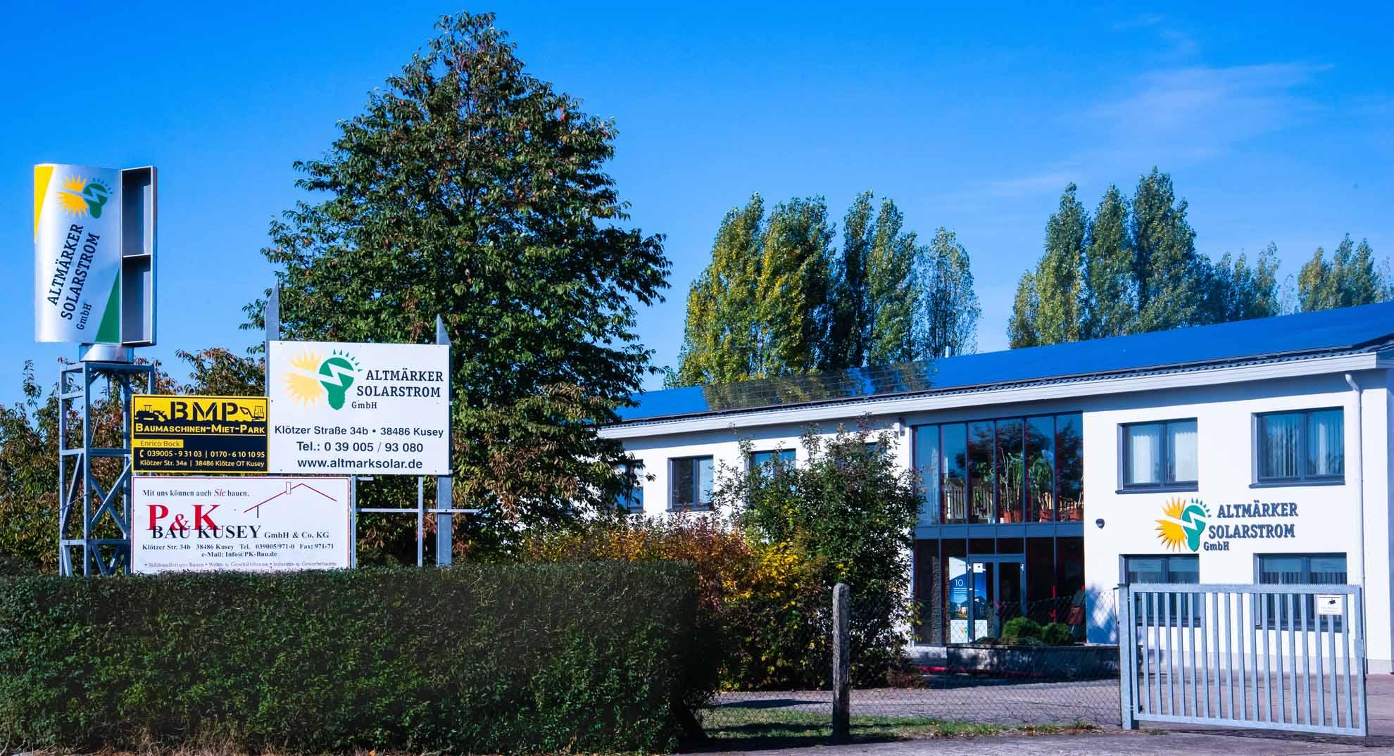 Altmärker Solarstrom GmbH Firmensitz