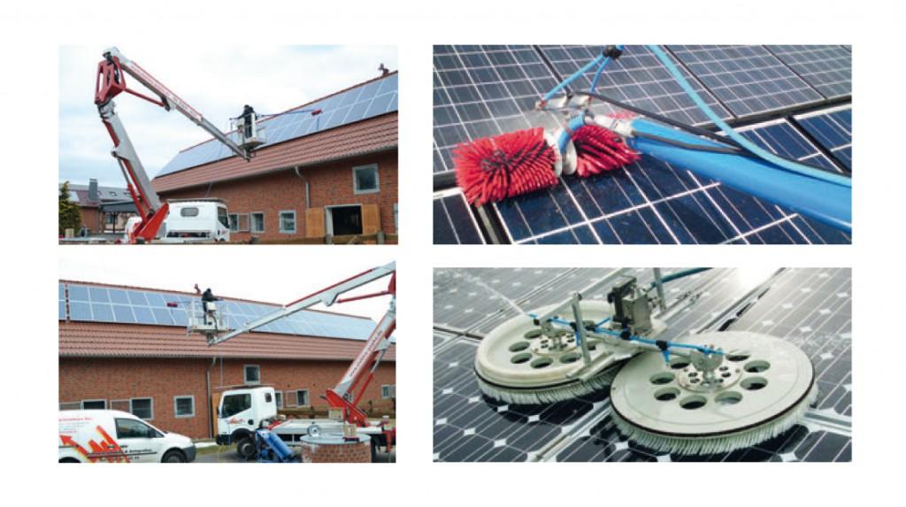 Photovoltaik Anlagenreinigung