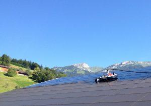 Anlagenreinigung Photovoltaik