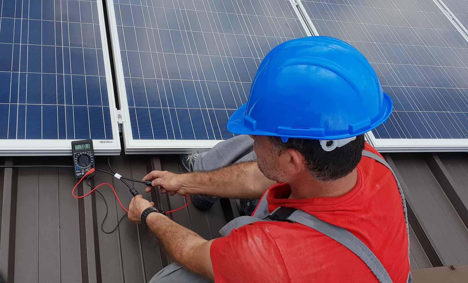 Solaranlage Service