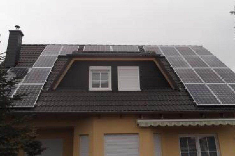 Photovoltaikanlage Hentschke Fertigstellung 10.04.2013