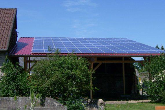 Photovoltaikanlage Jeeben bis 50 KW