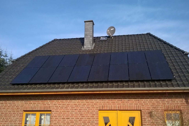 Photovoltaikanlage Neuferchau