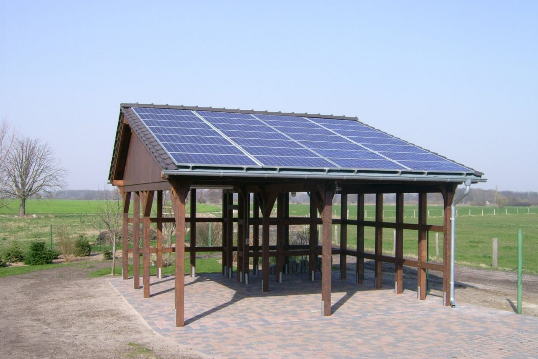 Solarcarport in Jeeben (1)