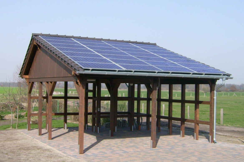 Solarcarport in Jeeben (2)